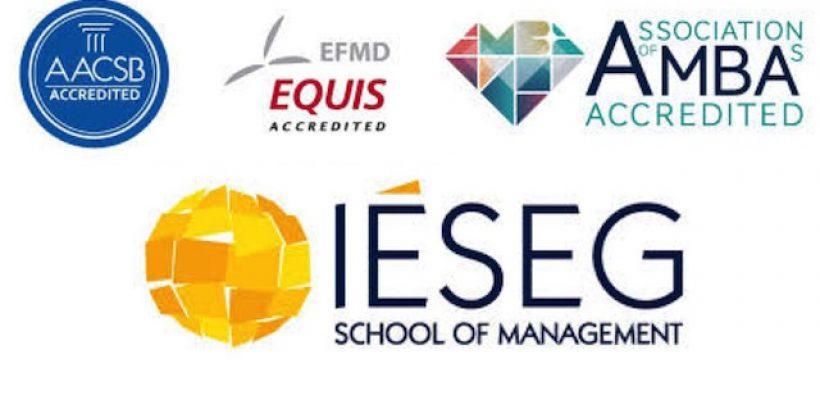 l'IESEG obtient la triple accréditation: EPIS, AACSB et AMBA